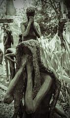 Kenny Hill Sculpture (jim_cook) Tags: strange garden religion statues bayou sculptures biblical