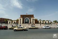 Stazione ferroviaria (andrea.prave) Tags: station train morocco maroc marocco marrakech marrakesh stazione treni  almamlaka   garedemarrakech visitmorocco almaghribiyya tourdelmarocco