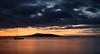 Vue de Sète de la plage de Mèze