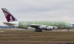 Qatar Airways Airbus A380-861 cn 181 F-WWSC // A7-APE (Clment Alloing - CAphotography) Tags: sky test cn canon airplane airport aircraft flight engine ground off aeroplane landing 7d airbus take toulouse airways aeroport aeropuerto blagnac spotting tls qatar 181 100400 lfbo a380861 fwwsc a7ape