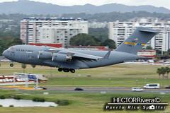 07-7180 USAF United States Air Force Boeing C-17A Globemaster III - cn P-180  @ SJU Puerto Rico (Hector Rivera - Puerto Rico Spotter) Tags: cn puerto force air united iii rico states boeing globemaster usaf sju p180 c17a 077180