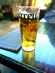 Happy Sunny Sunday! Cheers! (sipper666) Tags: beer tapas oldham estrella lager saddleworth uppermill