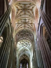 Nave central Catedral de Astorga, Len (Jesus Malagon) Tags: cathedral gothic catedral len astorga gtico