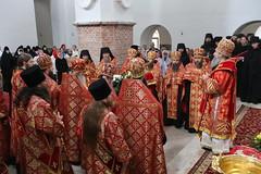 57. Paschal Prayer Service in Svyatogorsk / Пасхальный молебен в соборном храме г. Святогорска