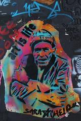 Sara Chelou_9707 boulevard Jean Simon Paris 13 (meuh1246) Tags: streetart paris bonnet paris13 sarachelou lelavomatik boulevarddugnraljeansimon