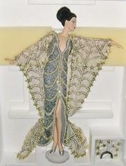 1994 Erte Stardust Porcelain Doll #1 (2) (Paul BarbieTemptation) Tags: silver gold doll barbie first collection series 1994 limited edition porcelain mattel stardust erte