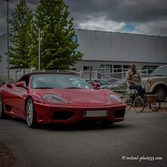 #Ferrari #tricycle #rassemblement #vhicules #Base_Sous_Marine #Bordeaux (instant-photo33) Tags: tricycle bordeaux ferrari rassemblement vhicules basesousmarine