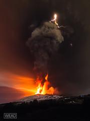 3 Dicembre 2015 (Marco Restivo) Tags: italy snow flow lights volcano lava mount ash sicily thunderstorm volcanoes etna eruption catania sicilia vulcano 2015 fulmini eruzione parossismo