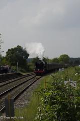 CJM_3196 (cjmillsnun@btinternet.com) Tags: heritage trains hampshire steam locomotive flyingscotsman steamlocomotive romsey nikond7000