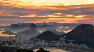 Sunrise @Vista Chinesa, #RiodeJaneiro, #Brazil