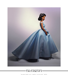 Blue Satin (thitipatify) Tags: classic robert fashion vintage ball magazine studio toy model glamour doll dress quality barbie best retro glam gown royalty diorama integrity silkstone robertbest