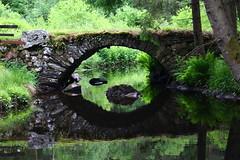 The troll under the bridge (elektroapa) Tags: bridge summer sweden illusion troll