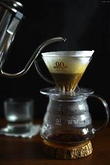 Homemade Coffee (Iyhon Chiu) Tags: coffee brewing hand homemade d750  2015 kono   pourover    dripbrewing