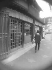 ambiguous old memory (-ICHIRO) Tags: street camera lens toy wide snap ez yashica f525