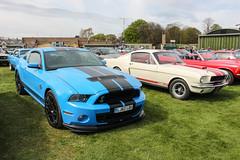 Mustangs (R.K.C. Photography) Tags: uk england classic car unitedkingdom 1966 american duxford fordmustang cambridgeshire 2012 airfield iwm gt500 gt350 canoneos100d duxfordspringcarshow2016