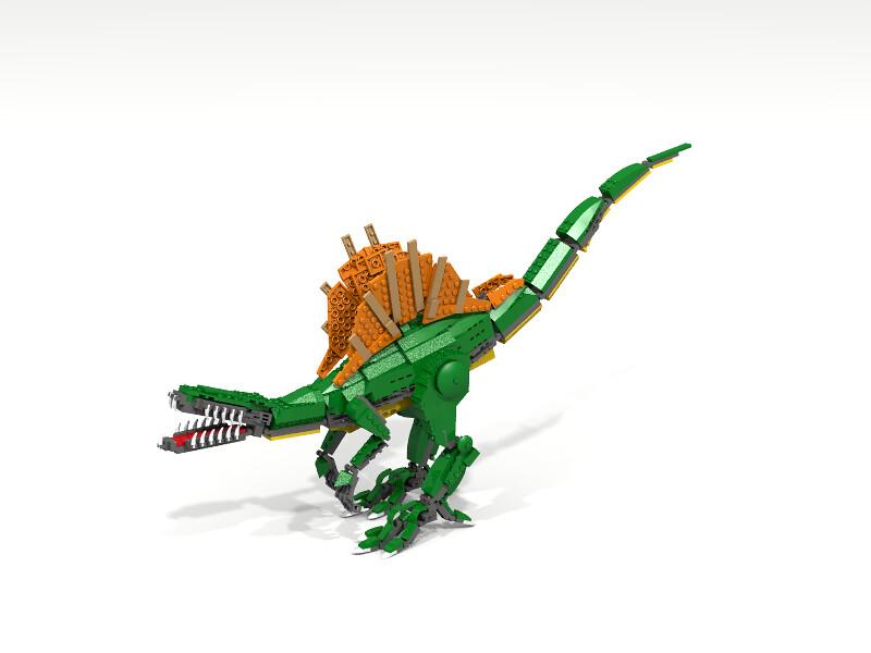The world 39 s best photos of legodino flickr hive mind - Lego dinosaurs spinosaurus ...