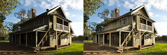 Middlemore Cottage Comparison (Macr1) Tags: old house building architecture facade nikon outdoor cottage sunny australia location structure cameras wa westernaustralia faade default lenses conditions exteriors dwelling builtenvironment fairbridge d700 nikond700 markmcintosh pcenikkor24mmf35ded macr237gmailcom markmcintosh itemcondition 61403327236 middlemorecottage