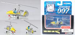 COT-TY95101-Little-Nellie (adrianz toyz) Tags: corgi toys toy model 007 james bond youonlylivetwice ty95101 little nellie gyrocopter adrianztoyz