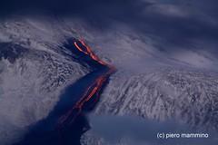 Etna _ lava snow and clouds (piero.mammino) Tags: sicilia sicily etna volcano vulcani lava snow ice fire neve ghiaccio fuoco eruzione eruption nuvole cloud natureandnothingelse ngc