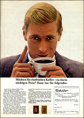 1962 german ad Tschibo Kaffee (Harald Haefker) Tags: classic coffee promotion vintage magazine germany ads print advertising deutschland pub publicidad reclame ad kaffee retro anuncio advertisement nostalgia german advert 1960s werbung publicit magazin 1962 reklame nostalgie deutsch affiche publicitario deutsche historie pubblicit historisch werbe rclame klassische tschibo pubblicizzazione