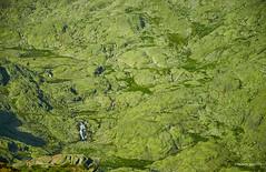 The drain/El desague (Modesto Vega) Tags: mountain rock landscape waterfall path drain fullframe catarata senda piedra d600 desague glacialcirque sierradegredos circodegredos lagunagrande mountainrefuge nikond600 gredosglacialcirque