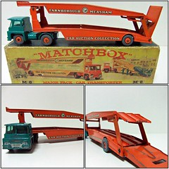 CAR TRANSPORTER M-8 - MATCHBOX (RMJ68) Tags: guy warrior car transporter major pack series lesney matchbox diecast camion truck trailer coches cars juguete toy