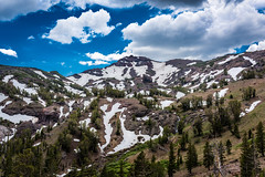 Sonora Pass (Maxinux40k) Tags: 2016 afs35mmf18ged california clouds d810 july landscape mitchellcipriano monolake mountainview nature nikkor nikon outdoors sierra sierranevada sky snow sonorapass sports summer trees usa mountain outdoor
