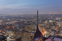 Your place or mine? (tomms) Tags: toronto cityscape rooftopping