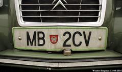 MB 2CV (XBXG) Tags: mb2cv citron 2cv citron2cv 2cv6 2pk eend geit deuche deudeuche maribor slovenia icccr 2016 landgoed middachten de steeg desteeg rheden gelderland nederland holland netherlands paysbas vintage old classic french car auto automobile voiture ancienne franaise france frankrijk kenteken license plate plaque immat immatriculation