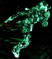 Interdimensional runner (FroherMilchmann) Tags: green witcher ciri run