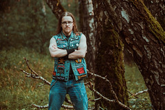 IMG_5095 (rodinaat) Tags: longhair longhairman longhairedman longhaired beard bearded metal metalhead powermetal trashmetal guitar musican guitarplayer brutal forest summer sun