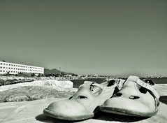 Kickers...in scogliera (BarbaraBonanno BNNRRB) Tags: kickers scogliera scoglieradellamore marinadimassa mare massa sea scarpe shes dellamore bnnrrb