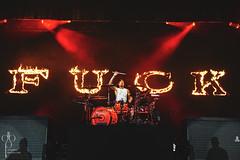 Travis Barker / Blink 182 (DeadboltPhotos) Tags: deadboltphotos travis barker blink 182 music pnc bank arts center color live photography