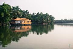 Valiyaparamba backwaters, Tejaswini river, Bekal (Raghavan Prabhu) Tags: backwaters kerala valayapirambil bekal houseboat