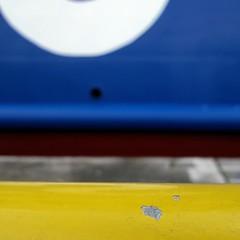 Dipingere uno spazio bianco dove nulla  disegnato:questo  pi difficile compito della pittura   (Ike no taiga) (carlini.sonia) Tags: sonia azzurro bianco giallo ruggine ferro porto nave