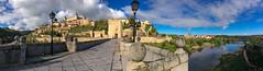 Puente de Alcantara, Toledo, Spain. (hippoking) Tags: chui spain toledo city destination panorama travel