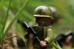 Rumble in the Jungle (lego slayer) Tags: lego legos brickarms canon rebel vietnam war jungle patrol
