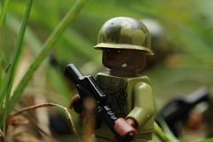 Rumble in the Jungle (lego slayer) Tags: lego legos brickarms canon rebel vietnam war jungle patrol