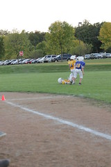 1455 (bubbaonthenet) Tags: 09292016 game stma community 4th grade youth football team 2 5 education tackle 4 blue vs 3 gold
