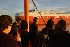 Thermopyle (dtanist) Tags: nyc newyork new york city newyorkcity sonya7 contax zeiss carlzeiss carl planar 45mm manhattan staten island ferry siferry nyharbor harbor sea boat ship wallenius wilhelmsen logistics cargo thermopyle commuters