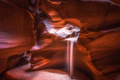 Red Orange (S. Nirza) Tags: antelopecanyon lowerantelope sandfall