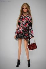 Rose (YOKO*DOLLS) Tags: integrity imogen fashionroyalty model boho goth lace doll fr fr3