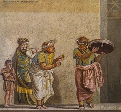 Mosaic Street Musicians by Dioskourides of Samos - National Archaeological Museum Naples DSC02134 (Chris Belsten) Tags: italy classicalart herculaneum museum napoli art pompeii treasures nationalarcheologicalmuseum sculpture naples greekart classical mosaics romanart mosaic portraits romansculpture archaeology streetmusicians musicians