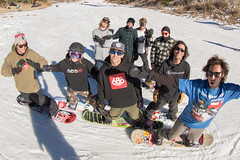 The Gang in the Park at Bear Mountain in Big Bear, California
