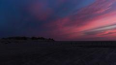 IMG_4804 (Leif Hinrichsen) Tags: sunset summer beach strand denmark island sonnenuntergang sommer insel northsea dänemark danmark nordsee abendhimmel sandstrand rømø röm nordseeinsel
