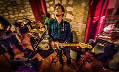 the Man and his Blues Guitar (migueldunham) Tags: music mexico morelia jazz michoacan amaticafe tonemappedsingle