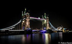 Tower Bridge (_Natasa_) Tags: uk longexposure nightphotography bridge england london tower thames towerbridge canon reflections river lights colours sigma most riverthames touristattraction sigma1020mm canoneos7d natasaopacic natasaopacicphotography