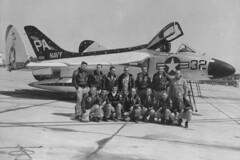 F4D-1 Skyray BuNo 134898, PA-32 (skyhawkpc) Tags: aviation 1957 douglas skyray pa32 nasmiramar 134898 f4d1 145072 vfaw3