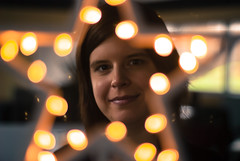 DSC_1235-3 (foto_fux1) Tags: weihnachten 50mm bokeh weihnacht christmastime sonstige 2014 weihnachtsstern christmasstar gruskarte