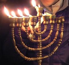 Hanukkah 5775 a (AnnAbulf) Tags: synagoge fvg hanukkah chanukkah gorizia hanukkiah fjv sinagoga friuliveneziagiulia görz chanukkiah friauljulischvenetien hanukkà chanukkà hanukkià chanukkià